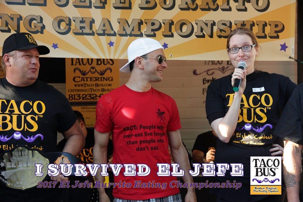 2017 El Jefe Burrito Eating Championship
