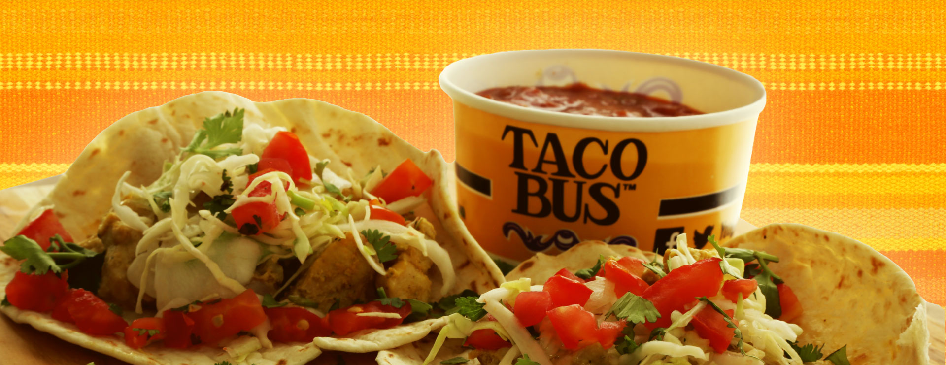 Taco Bus Tacos and Salsa
